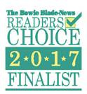 2017 Bowie Blade Readers Choice Finalist