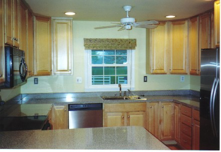 light maple cabinets Rancher